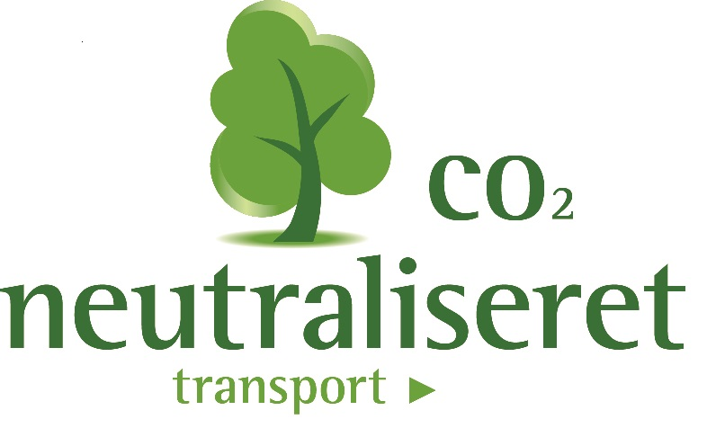 CO2 neutraliseret transport lille