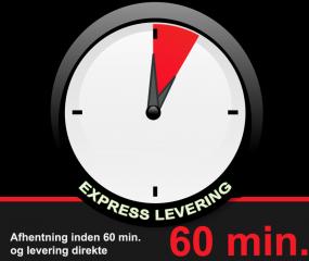 Express Levering – når det haster!