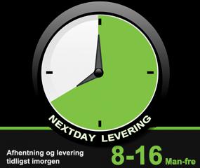 NextDay Levering – Grønne pakker
